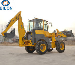 0.8-1.2m3 Bucket Capacity Caterpillar Backhoe Loader For Building Construction