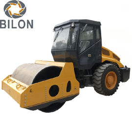 Hydraulic Single Drum Soil Compactor Roller With 8 Ton Capacity