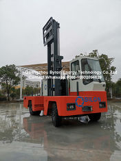 5 Ton Engine - Powered Side Loading Forklift Truck With 85KW ISUZU Engine